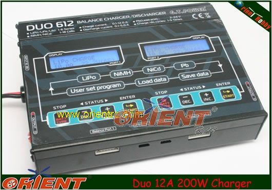 Duo 12A 200W Charger